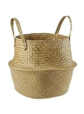 Sea grass Basket Storage Basket Planter Box Basket