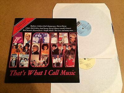Now That's What I Call Music 1  Vinyl Double Record Lp Emi Now 1 Orig 1983  Mint