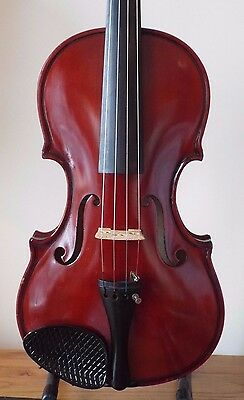 "OFFER for SUPERB   GEORGIO DAMALOS  c2000 HANDMADE 4/4 VIOLIN LOB 14""  + CASE"