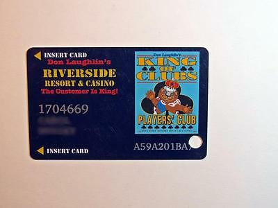 Slot Players Club Card Riverside Casino Laughlin Nevada Free Shipping