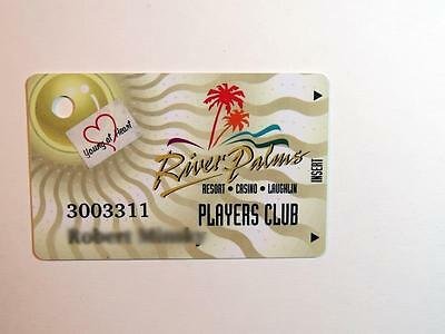 Slot Players Club Card River Palms Casino Laughlin Nevada Free Shipping