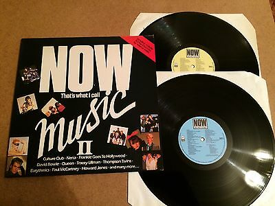 Now That's What I Call Music 2  Vinyl Double Record Lp Emi Now 2 Orig 1984  Mint