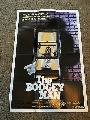 "1980 The Boogey Man Original 1 Sheet Movie Poster 27"" X 41"" - Estate"