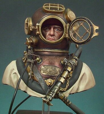 1:10 WW2 U.S. Navy diver resin bust