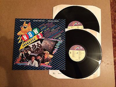 Now That's What I Call Music 3  Vinyl Double Record Lp Emi Now 3 Orig 1984  Mint