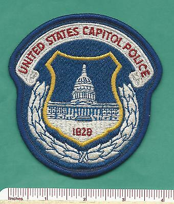 United States US Capitol Police Washington DC Law Enforcement Patch