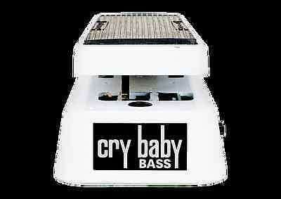 Jim Dunlop 105Q Bass Guitar Crybaby Wah - Sepearte Q and Volume Controls