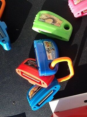 Fisher Price Smart Cycle 4 Cartridges Games/Ring