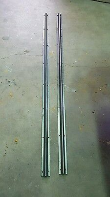 1961-64 Chevy Impala Convertible Reinforcement Support Rails Pair New Repops