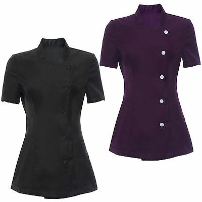 Hairdressing Beauty SPA Nail Salon Therapist Massage Tunic Uniform Clothes