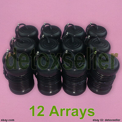 12 Round Arrays For Ionic Detox Foot Spa Bath Cell Cleanse Machine Replacement