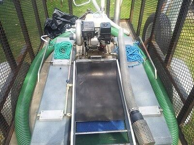 "4"" Keene Ultra-Mini Dredge With Air"