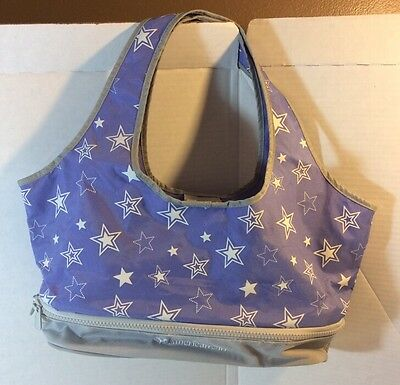 American Girl Doll Carrying Case Tote Bag Purple Star