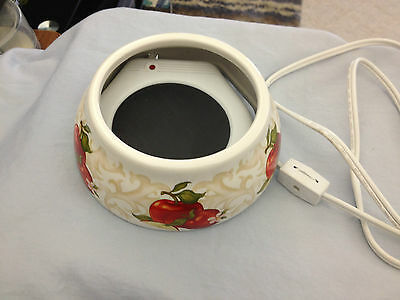 Decorative Candle Warmer With Apple Base, Large