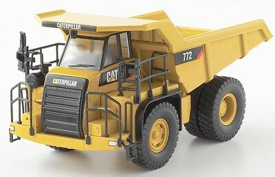 CAT 772 OFF-HIGHWAY DUMP TRUCK #55147 - 1:50 Scale by NORSCOT