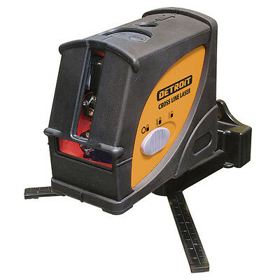 Detroit CROSS LINE LASER LEVEL 610L 10m, Horizontal, Vertical & Plumb Operation