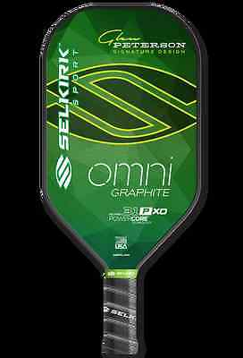 New Selkirk Omni 31P XO Graphite Polymer Elongated Pickleball Paddle Warranty