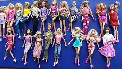 Barbie doll Lot of 20 Jointed Articulated Barbie dolls for play or OOAK by Matel