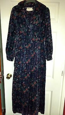 Ladies Vintage Maxi Velvet Cord Dress from Saks Fifth Avenue