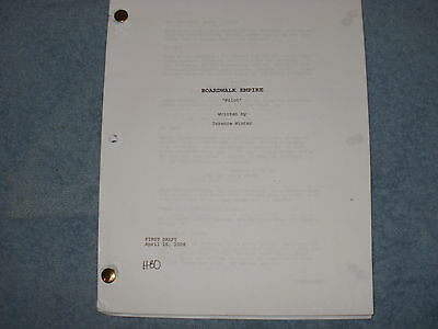 Boardwalk Empire Tv Pilot Script - Steve Buscemi - Kelly Macdonald Michael Pitt