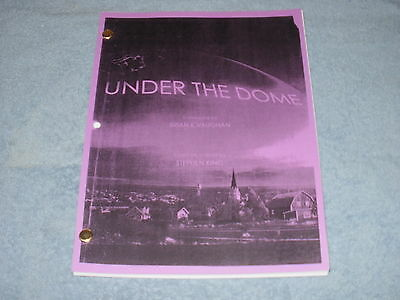 Under The Dome Pilot Script - Mike Vogel Rachelle Lefevre Dean Norris Colin Ford