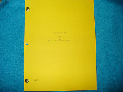 Once Upon A Time Script - Jennifer Morrison - Robert Carlyle - Ginnifer Goodwin