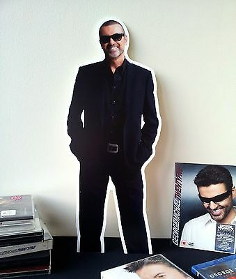 George Michael Display Stand Standee NEW WHAM Symphonica Faith One More Try
