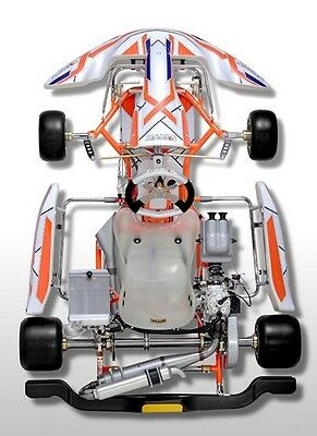 Go Kart Brand New 2017 Exprit 401s Tonykart Chassis Rotax X30 Iame Kosmic Alonso