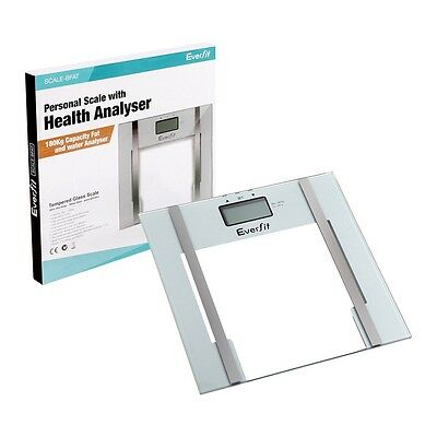 Digital Glass Body Fat Scale Bathroom Personal Scales Weight Electronic Water