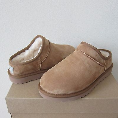 UGG Classic Water Resistant Suede Shearling Slippers
