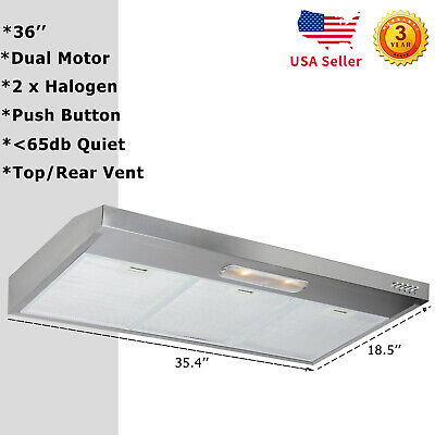 BROAN NON DUCTED Range Hood Stove Top Vent Hoods Kitchen