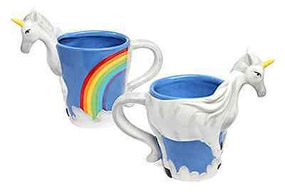 3D Unicorn Coffee Cocoa Drink Cup Figurine Cereamic Dishes Home Kitchenware Mug