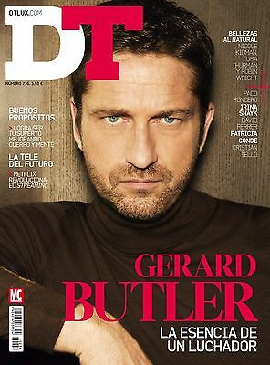 Gerard Butler Dtlux Spain January 2017 In Stock Dt