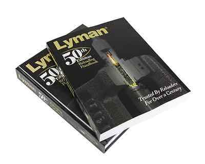 NEW Lyman 50th Edition Reloading Handbook Softcover FREE SHIPPING
