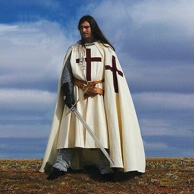 NEW YEAR SALE - Medieval Crusader Cape - Re-Enactment / LARP / Theatre Costume