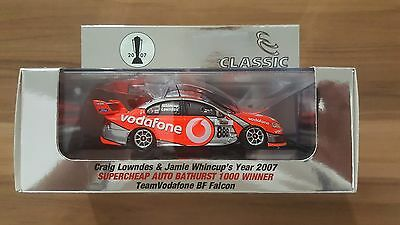1:43 2007 Team Vodafone Ford BF Falcon Bathurst Winner Lowndes / Whincup