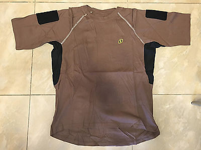 Small Brown Navy Seals Devgru T-Shirt Patch Sleeves aor1 crye lbt ironclad