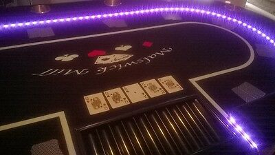 poker table top with led lights