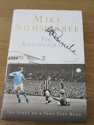 MIKE SUMMERBEE SIGNED The Autobiography Manchester City 2008