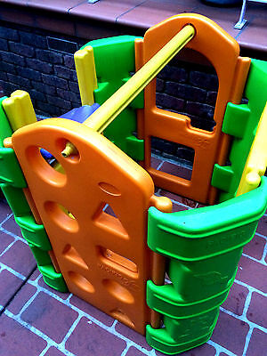 Single - Play Gym / Cubby House / Slide - Outdoor Kids Play Equipment In Door