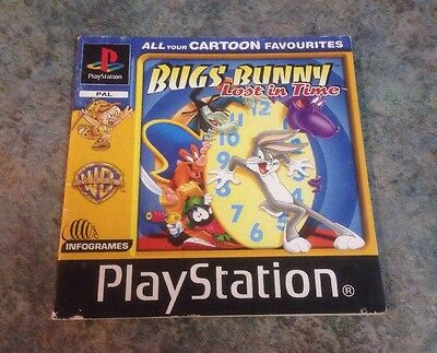 Bugs Bunny Lost In Time Playstation 1 Instruction Booklet / Manual Ps1