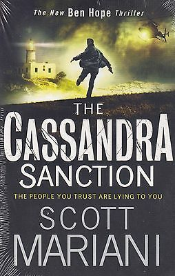 The Cassandra Sanction BRAND NEW BOOK by Scott Mariani (Paperback 2016)