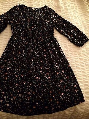 Maternity Dress Size 8-10 From H&M