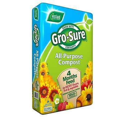 Westland Gro-Sure All Purpose Compost 120 Litre - Next Day Delivery