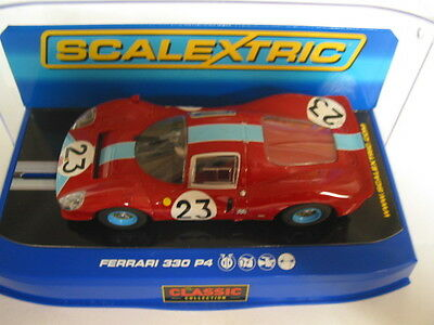 Scalextric C3028 Ferrari 330 P4 #23 Deleted Collectable  Mint Boxed