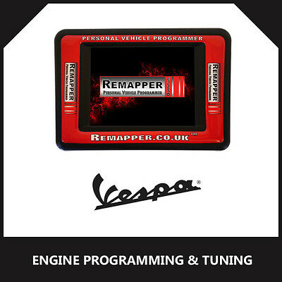 Vespa - ECU Remapping | Engine/Chip Tuning | ECU Programming Tool