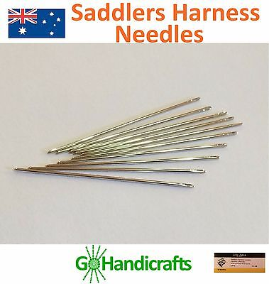 The Very Best Hand Sewing Leather Craft Needles Round-Pointed Durable