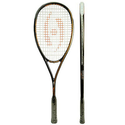 Harrow LJ Anjema Ste Squash Racket Grip Double Hole Technology Outdoor Game Play