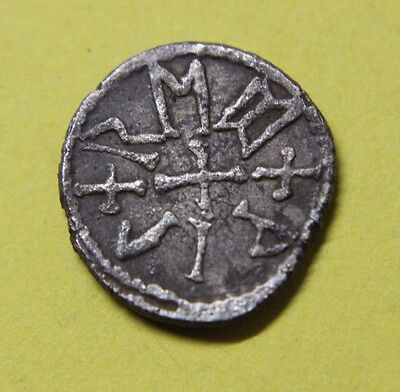 ANGLO-SAXON Kings of East Anglia Beonna Circa 749-760/5 Silver Sceat Coin