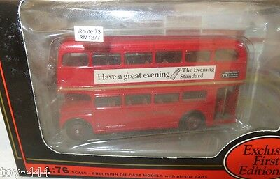 """Efe Aec Routemaster - London Transport  - Rm 1277  - """"route  73""""- #15605"""